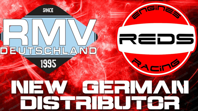 New Distributor in Germany for REDS Racing!