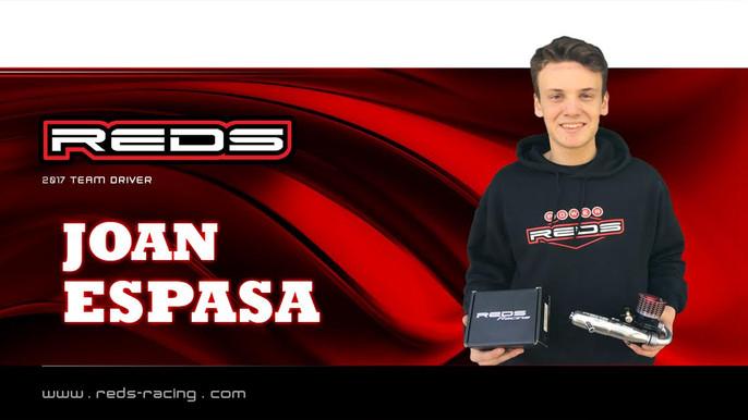 Joan Espasa continues with REDS Racing!
