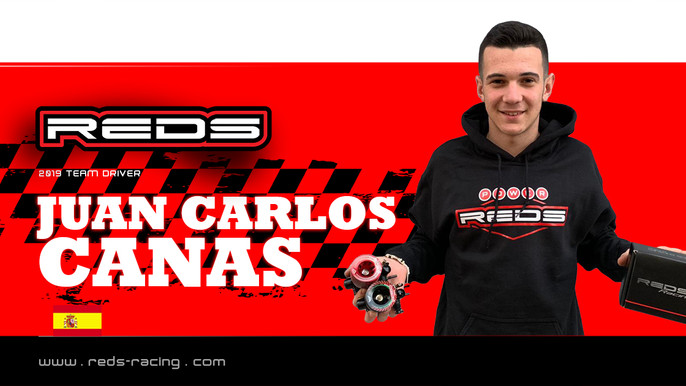 Canas Joins Reds Racing!