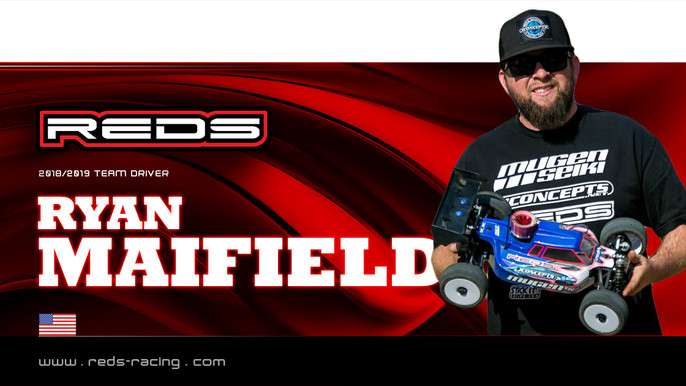 Maifield continues with REDS Racing!