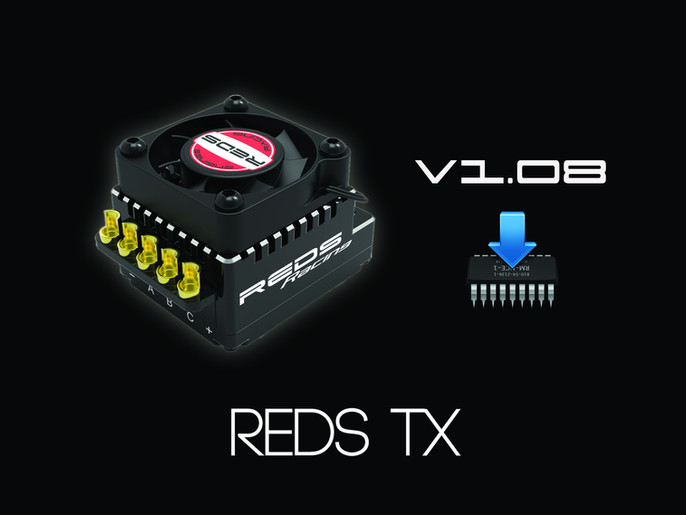 REDS updates the TX120 with new V1.08 firmware!