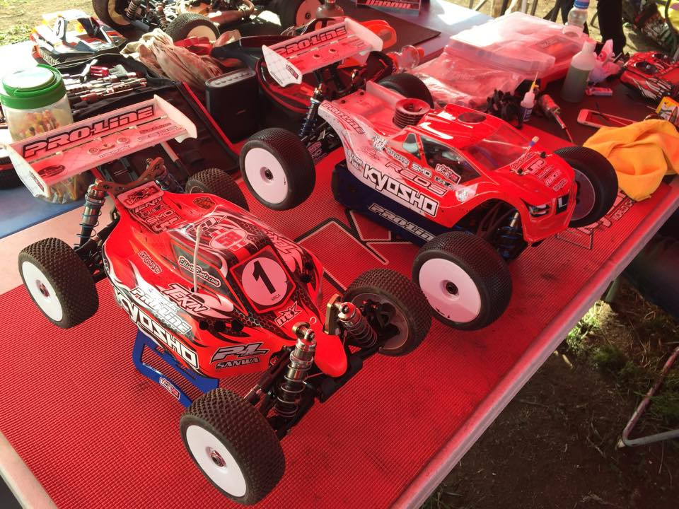 REDS Racing goes 1-2 at Round 3 of the BRCA 18 Truggy Nationals - Elliott Boots