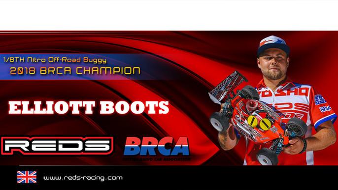 Elliott Boots 2018 BRCA Champion!!!