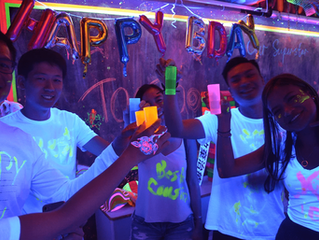 What to Wear to a Glowing Blacklight Party