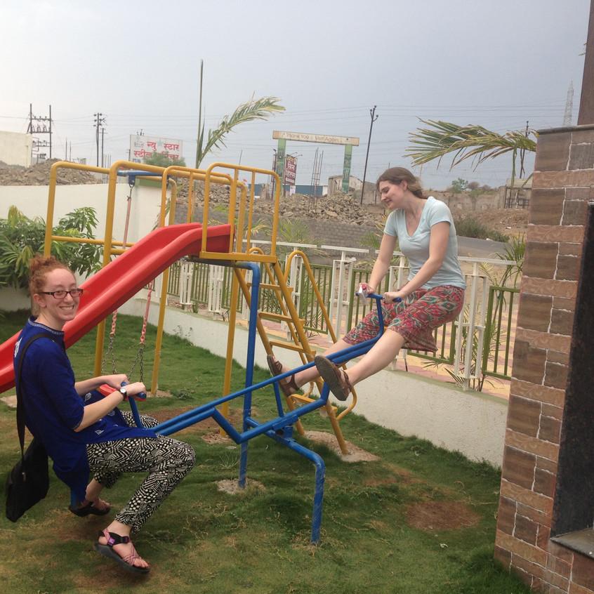 Fun on the seesaw