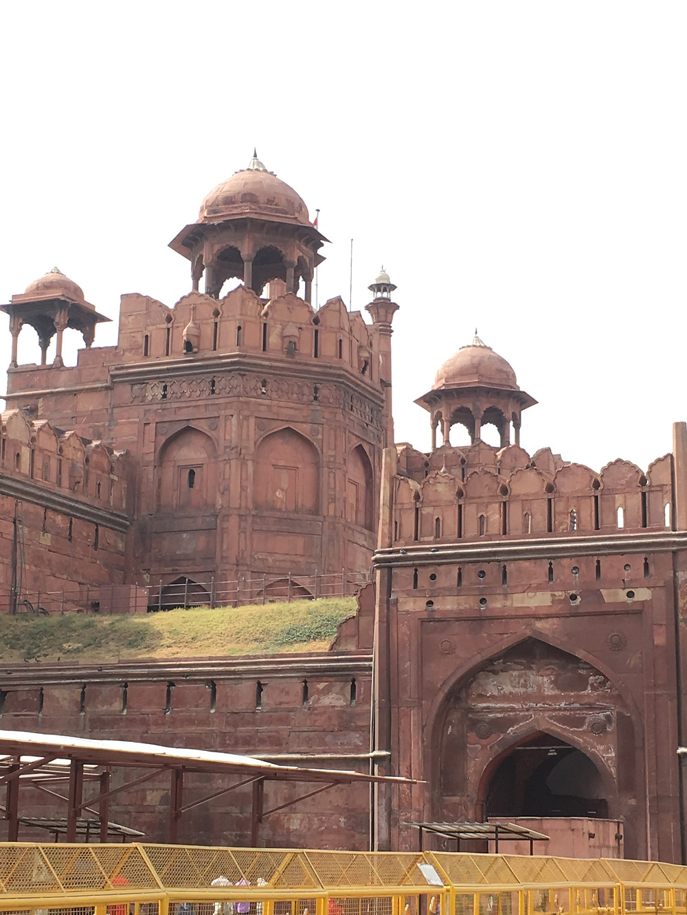 A photo of the Red Fort