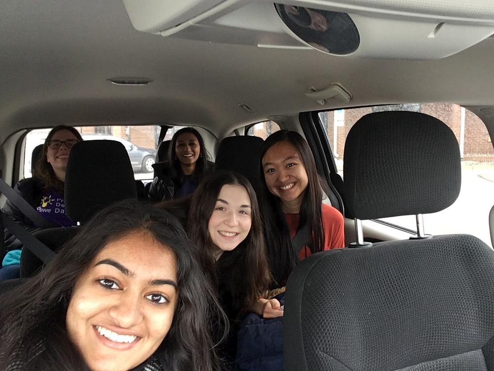 Pre Departure Car Selfie From Car 1