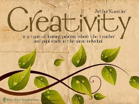 Musings on Creativity