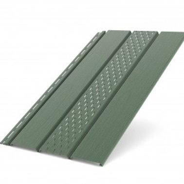 Deckenplatte perforiert grün (200 x 30,5 cm)