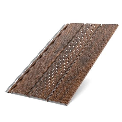 Deckenplatte perforiert Nussbaum classic (200 x 30,5 cm)