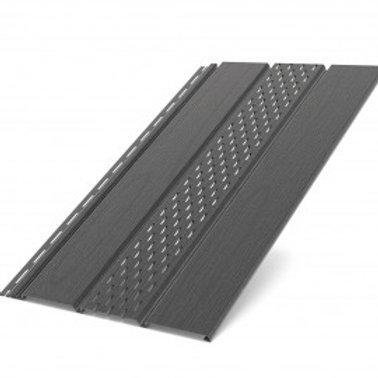 Deckenplatte perforiert graphit (200 x 30,5 cm)
