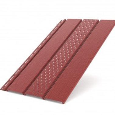Deckenplatte perforiert rot (200 x 30,5 cm)