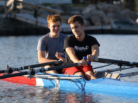 Two NRC Rowers Named Saint Bernard Students of the Month!