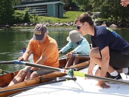 Neighbors Learn About Rowing
