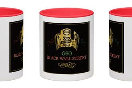GSO BW Mug (Red)
