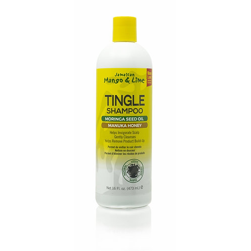 Mango & Lime - Tingle Shampoo (Moringa Seed Oil) (Manuka Honey)