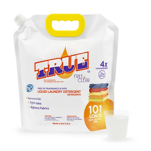 Free & Clear Laundry Detergent for Sensitive Skin • 101 Load
