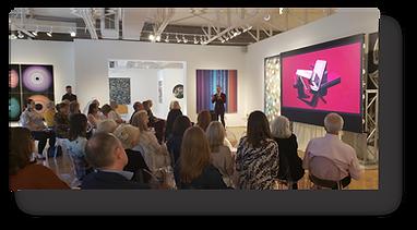 https://www.pixels.earth  Dallas Design Week - Christoopher Martin Gallery