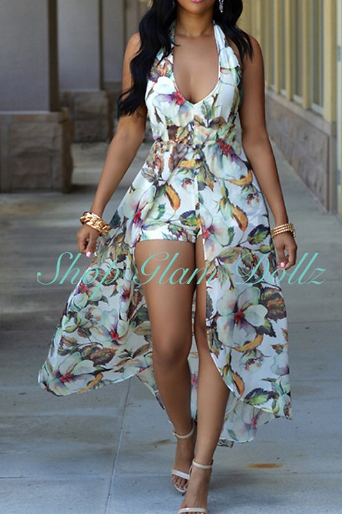 """Spring floral Maxi """"Glam"""""""
