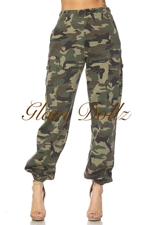 G I Jane Camo pants