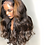 Thumbnail: Highlight Lace Frontal Wigs Deep Part Lace Front  Human Hair Wigs Brazilian