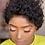 Thumbnail: Curly Bob Wig Lace Front Human Hair Wig