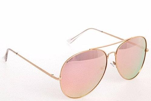 Pink Mirrored Sunnies