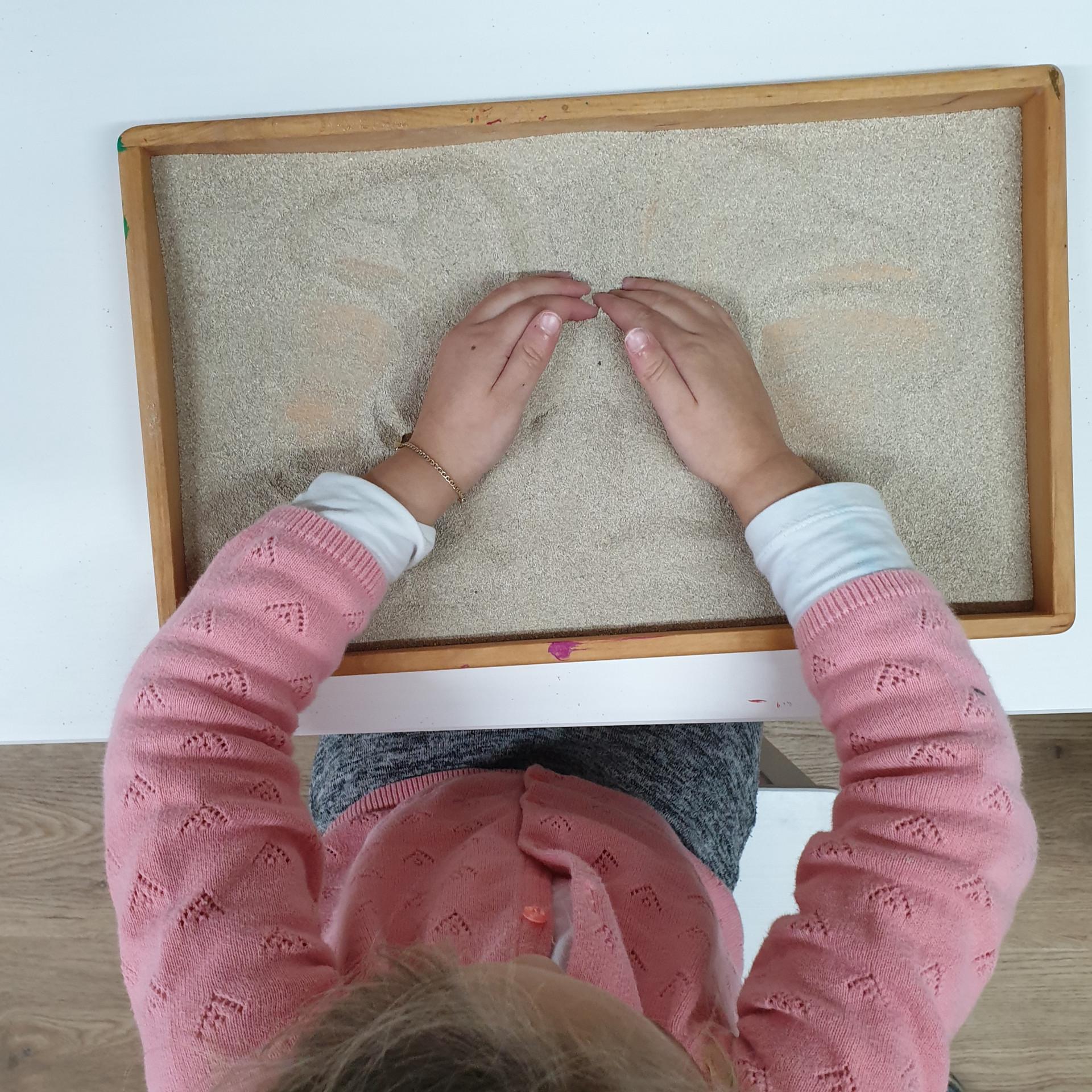 Sand-Tablet