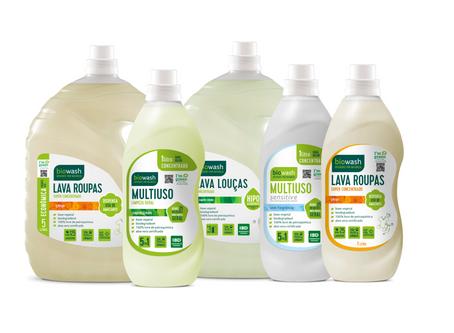 Biowash lança novas embalagens sustentáveis.