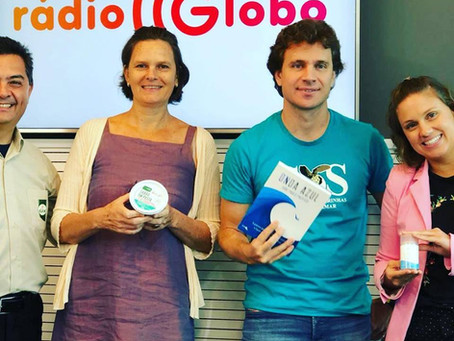 Biowash Grava programa na Rádio Globo/sp
