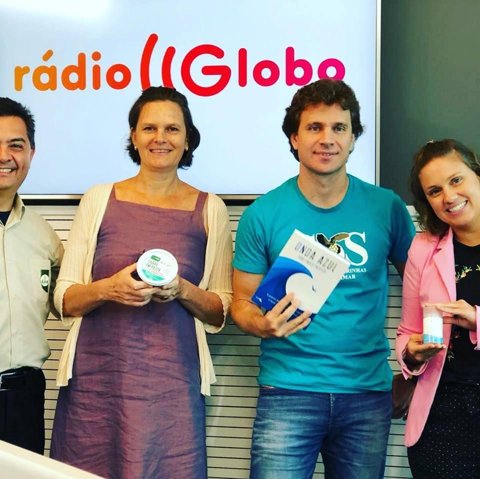 Biowash, Korin e Alva Cosméticos no programa Felicidade iLTDA - Rádio Globo