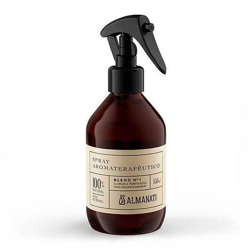 Spray Aromaterapêutico para Clareza e Purificação - Blend 1