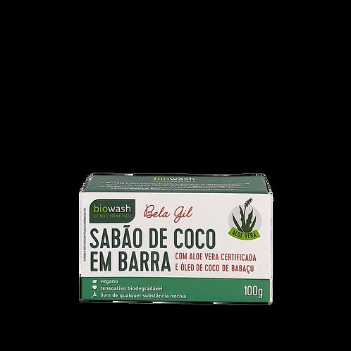 Sabão de coco em barra