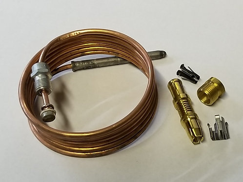 "60"" Universal Snap Fit Thermocouple with Fittings and Adaptors"