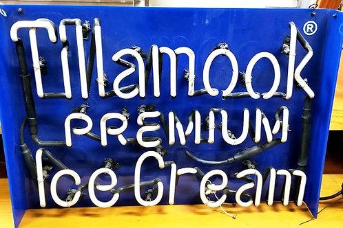 Used Neon Sign Tillamook Ice Cream Portland