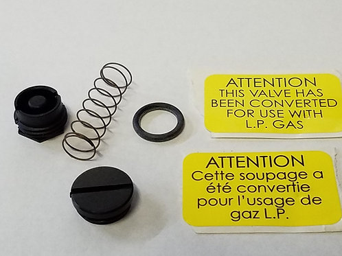 Natural Gas to LP Conversion Kit for Use with Honeywell VR42/4300, Etc.