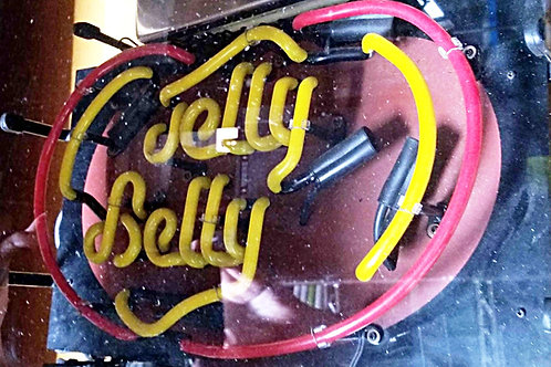 Used Jelly Belly Neon Sign Portland