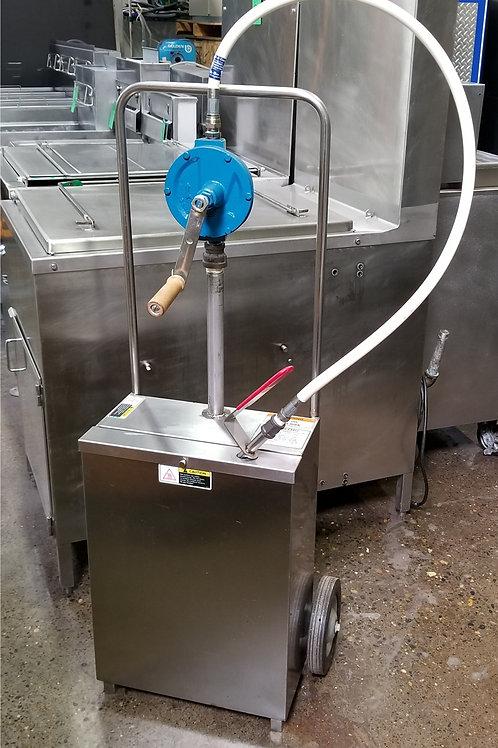 Manual Fryer Oil Pump Caddy Portland
