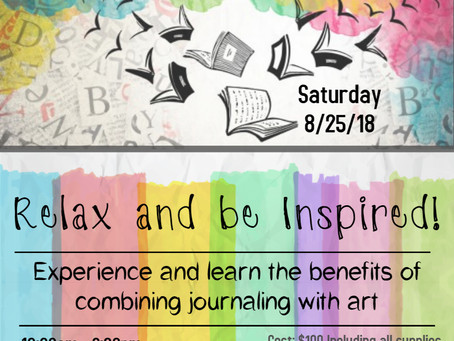 Art Journaling Workshop!