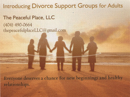 Divorce Support Groups starting in March
