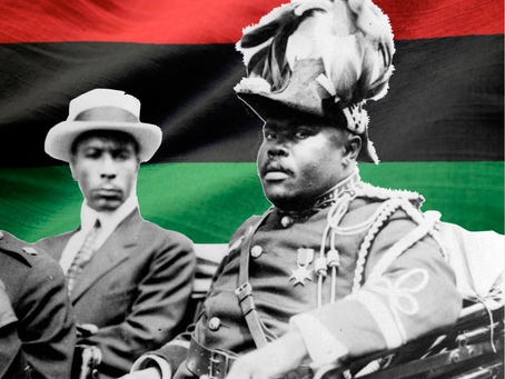 """Look For Me In A Whirlwind Or A Storm""  - Marcus Mosiah Garvey 1924"