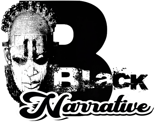 black narrative logo - Blacksage Prod. L