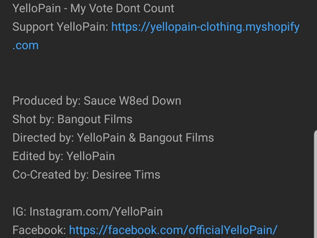 YelloPain - My Vote Dont CountYelloPain - My Vote Dont Count