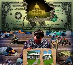 The income gulf & the enslavement of the masses. Why the wealthy Elites care nothing about the poor.
