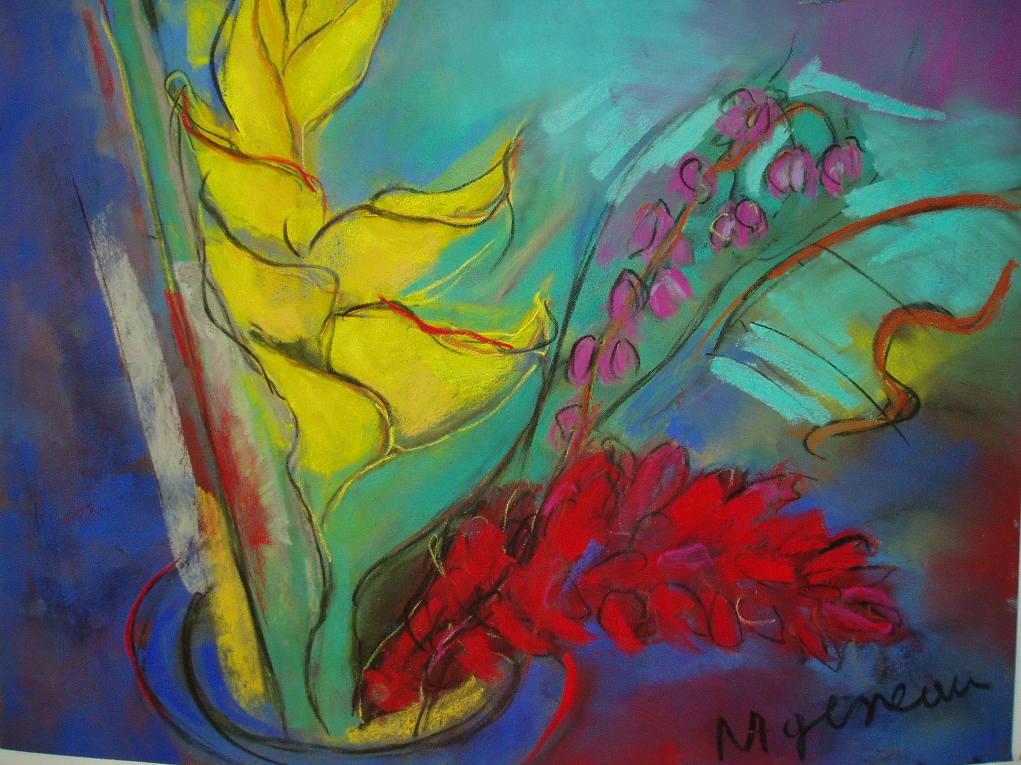 Fleurs tropicales 2