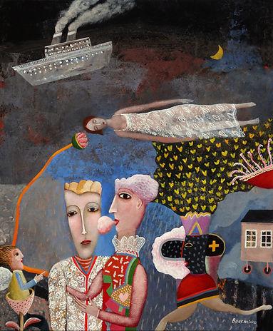 rêveuse-aux-papillons-de-nuit-61x50cm-W.
