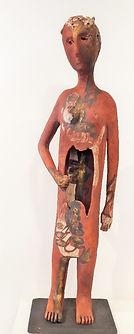 Sculpture céramique de Danie Christidès