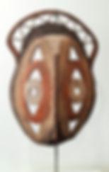 masque à igname . Papouasie