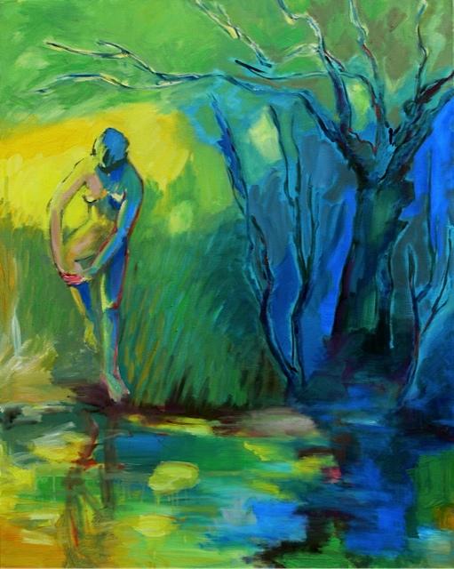 Diane au bain bleu
