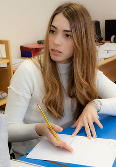 Student at WISE English school